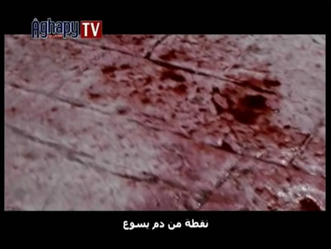 كليب نقطة من دم يسوع DvdRip بمساحة 40 ميجا من قناة Aghapy